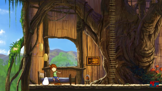 Screenshot - A Boy and his Blob (PC)