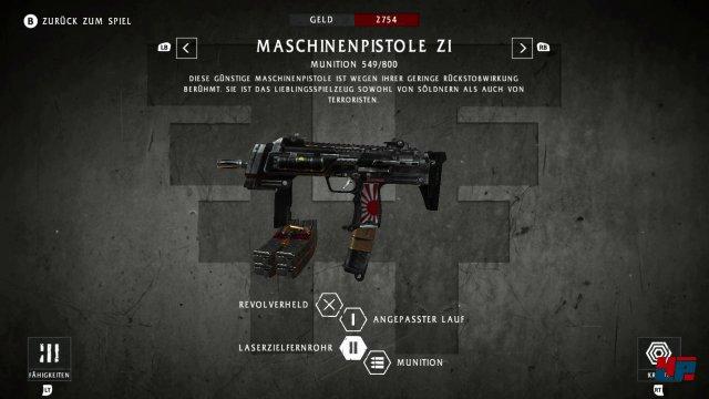 Die Retro-Mechaniken werden durch Upgrades für Waffen und Lo Wang aufgewertet.