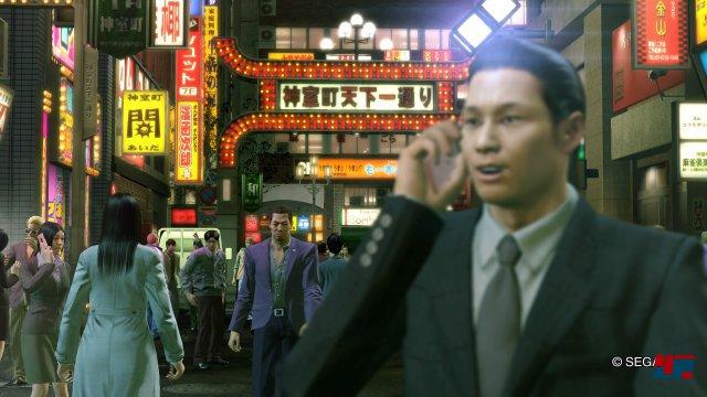 Kamurocho: Das fiktive Vergnügungsviertel hat sich seit dem Original kaum verändert.