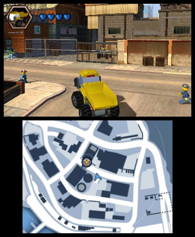 Screenshot - Lego City: Undercover (3DS) 92459488