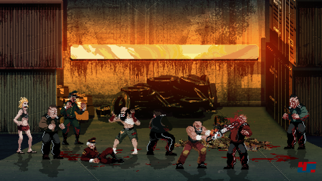 Screenshot - Mother Russia Bleeds (Linux)