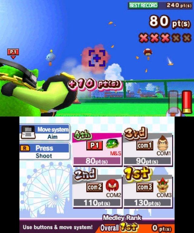 Screenshot - Mario & Sonic bei den Olympischen Spielen: London 2012 (3DS) 2304952