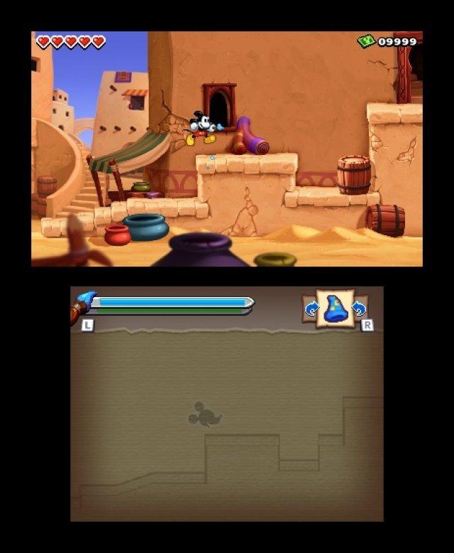 Screenshot - Micky Epic - Die Macht der Fantasie (3DS) 92406562