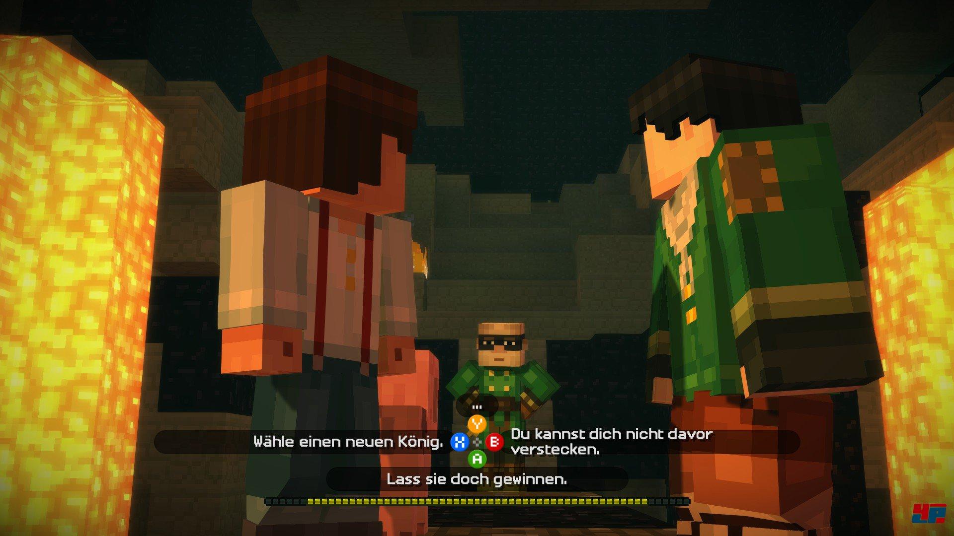 Screenshots Zu Minecraft Story Mode Episode Montage - Minecraft verstecken spielen server