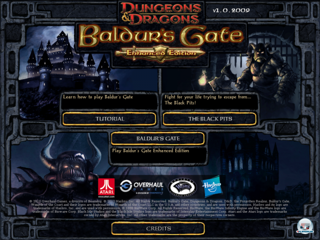 Screenshot - Baldur&#039;s Gate: Enhanced Edition (iPad)