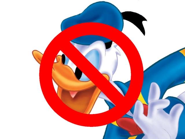 <b>Donald Duck:</b><br><br> Eine sprechende Ente ist per se schon hochverdächtig, denn wie jeder weiß, können Enten nicht sprechen - der Gedanke liegt nahe, dass sich ein Terrorist darunter verbirgt. Viel schlimmer ist allerdings die Tatsache, dass Herr Duck nie Hosen trägt! Das ist sexuelle Belästigung der widerwärtigsten Art! 1948413