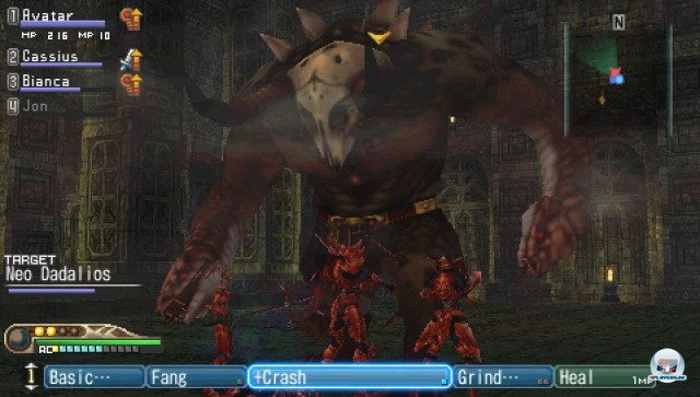 Screenshot - White Knight Chronicles: Origins (PSP) 2226969