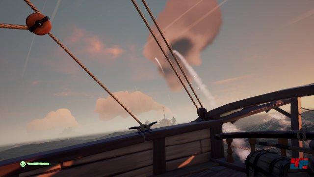 Man muss sich nicht nur vor anderen Piraten in Acht nehmen, sondern sich in bestimmten Bereichen auch gegen NPC-Beschuss wappnen.