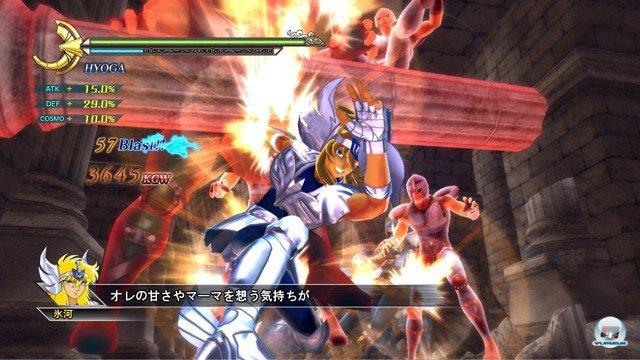 Screenshot - Saint Seiya: Sanctuary Battle (PlayStation3) 2274237