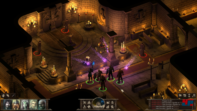 Screenshot - Black Geyser: Couriers of Darkness (Linux)
