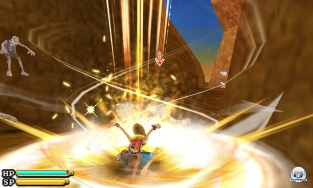 Screenshot - One Piece: Unlimited Cruise SP (3DS) 2259382