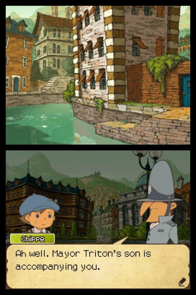 Screenshot - Professor Layton und der Ruf des Phantoms (NDS) 2292197