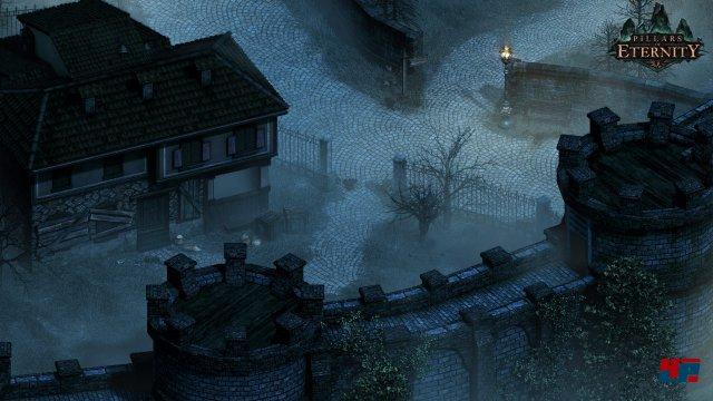Die Spielwelt wirkt noch recht leblos und entfaltet erst in der Nacht eine besondere Atmosphäre.