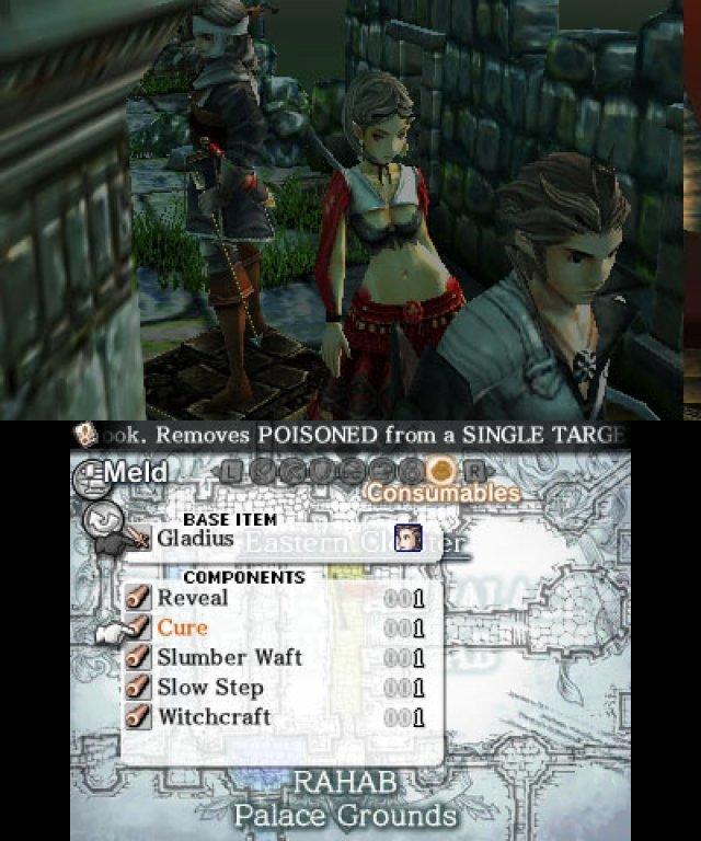 Screenshot - Crimson Shroud (3DS) 92430757