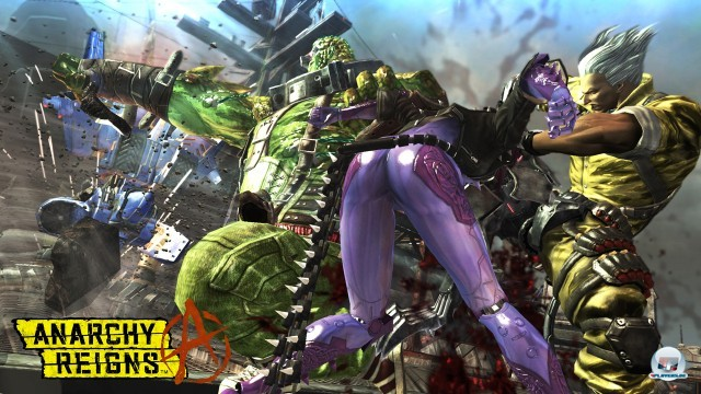 Screenshot - Anarchy Reigns (PlayStation3) 2246307