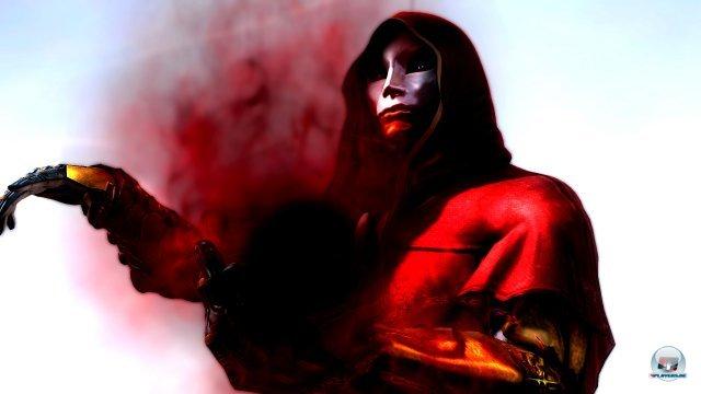 Was hat dieser finstere Maskentr�ger mit Ryu Hayabusa vor?
