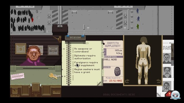 Screenshot - Papers, Please (PC)