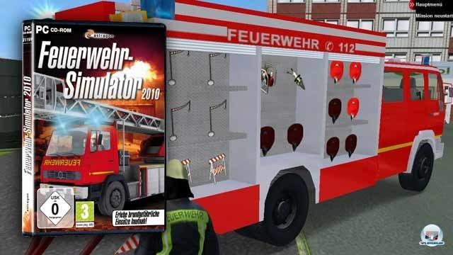 <b>Platz 10: Feuerwehr-Simulator 2011: 75.000 Publisher: Astragon</b> <br><br> Wenn schon der Beruf des Bauers, Baggerführers und Kapitäns versimuliert wird, darf natürlich ein Beruf nicht fehlen: Der Feuerwehrmann. Und so war es nur eine Frage der Zeit, bis 2010 auch ein Feuerwehr-Simulator auf den Markt geworfen wurde. Wenngleich die Schulnote vier minus (45%) wirklich nicht für Produktqualität steht, so handelt es sich bei der Vstep-Entwicklung auch nicht um einen Totalschaden.