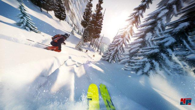Wer wie ich seit über 20 Jahren im Schnee unterwegs ist, wird mit Steep magische Momente erleben.