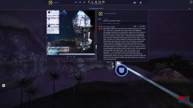 Screenshot - Cloud Chamber (Mac)