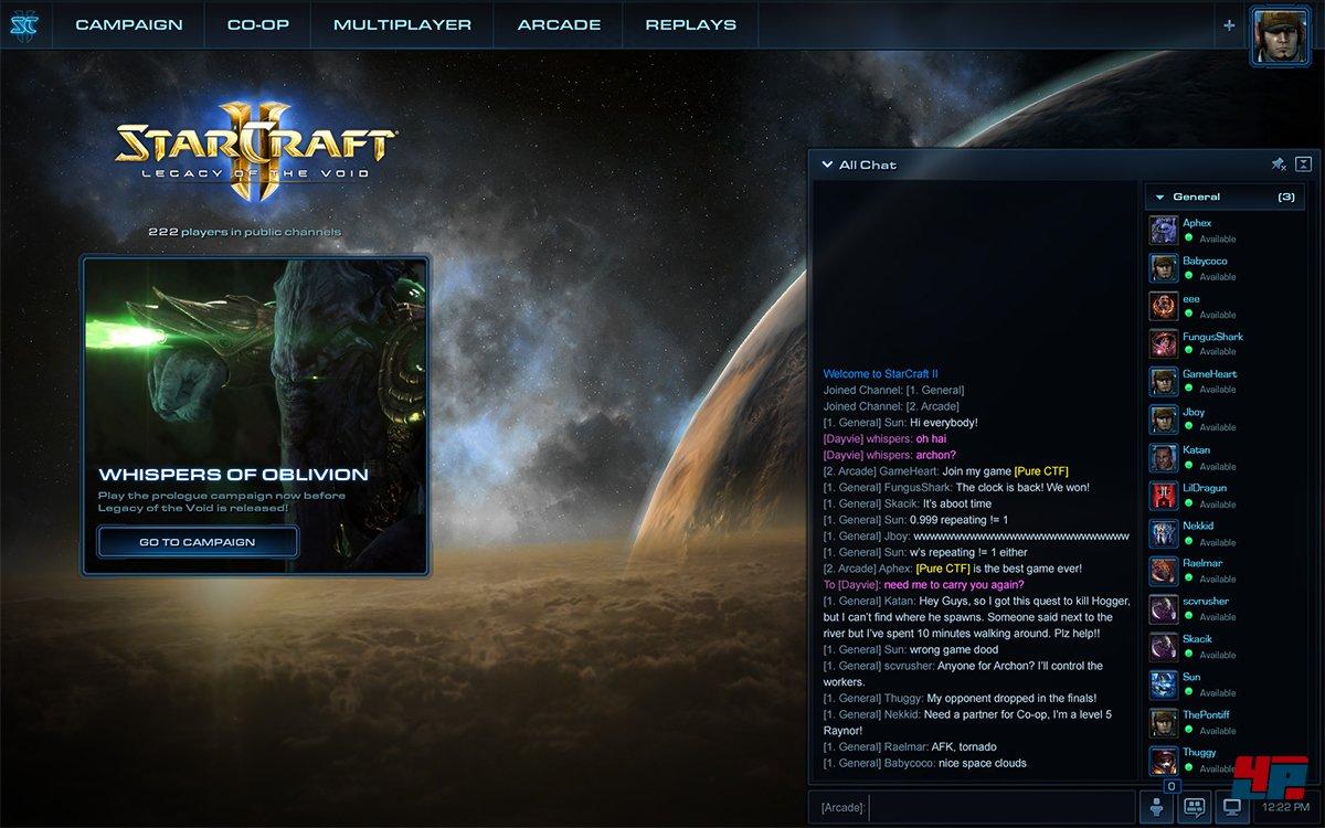 starcraft 2 patch  startet nicht