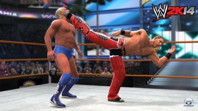 Ein Kick, der eine Karriere beendete: Das Match Shawn Michaels vs. Ric Flair wird mitsamt seiner Emotionalität gut eingefangen.