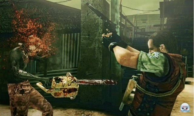 Screenshot - Resident Evil: The Mercenaries 3D (NDS) 2223788