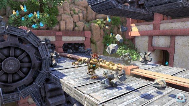 Katamari trifft Crash Bandiccot? Noch kann das Spiel sein Potenzial nicht ganz entfalten.