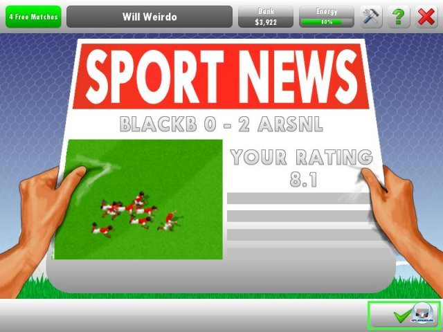 Screenshot - New Star Soccer 5 (PC)