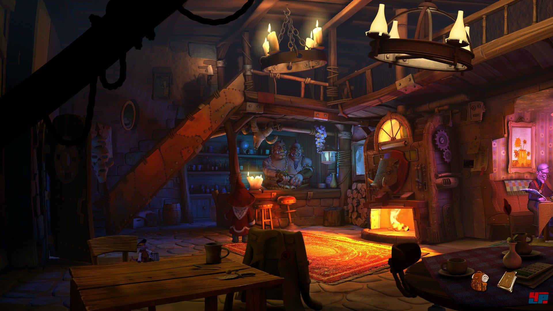 Screenshots zu The Book of Unwritten Tales 2 Alles zum Adventure