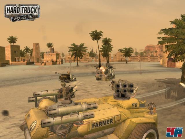 Скриншот из игры Hard Truck: Apocalypse под номером 3. Кликните на миниатюр