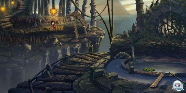 <b>Platz 10: Lilly looking through</b><br><br>Der kleine Entwickler Geeta Games aus San Francisco wagt eine Zeitreise: Im erfolgreich finanzierten Kickstarter-Geheimtipp