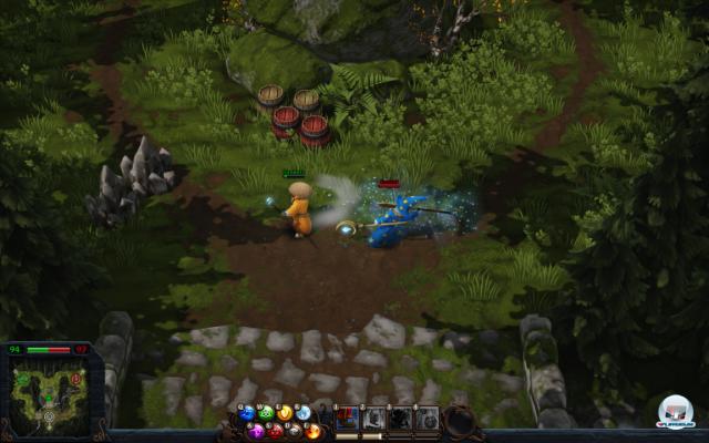Screenshot - Magicka: Wizard Wars (PC)