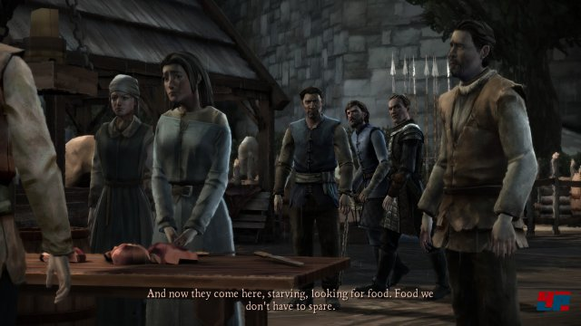 Screenshot - Game of Thrones - Episode 3: The Sword in the Darkness (iPad) 92502872