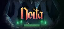 Noita: Aktuelle Spielszenen aus dem magischen Action-Rogue-Lite