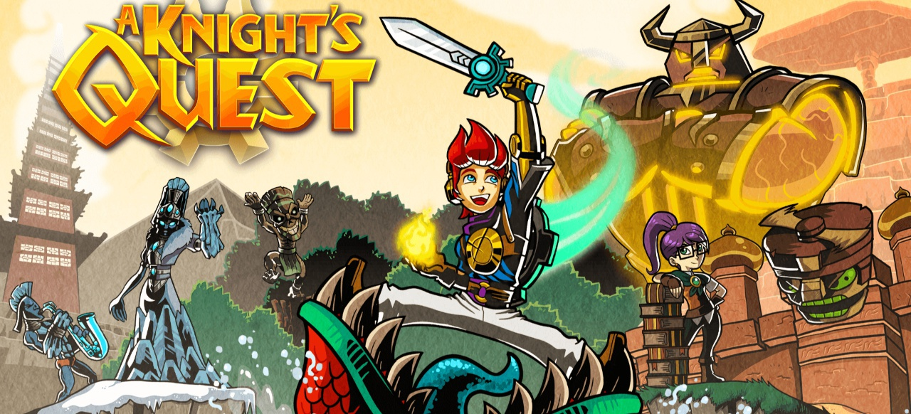 A Knight's Quest (Action) von Curve Digital