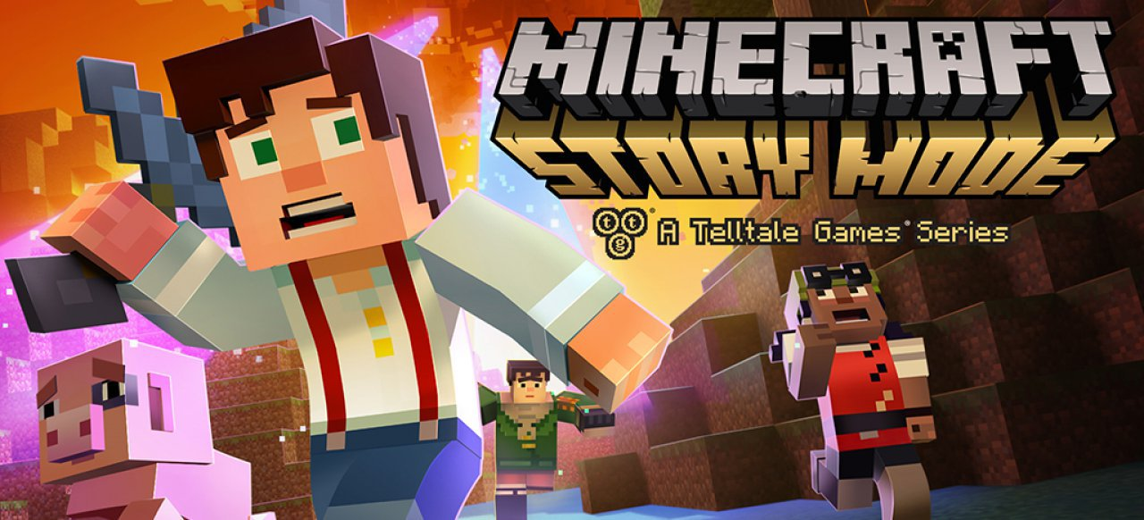 Minecraft: Story Mode - Episode 4: A Block and a Hard Place (Adventure) von Telltale Games
