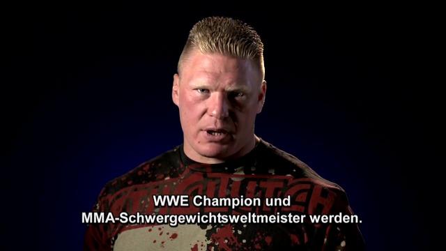Brock Lesnars Herausforderung