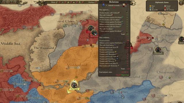 Kampagne des Imperiums