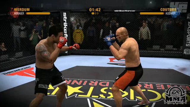 MMA/UFC-Vergleich: Standup