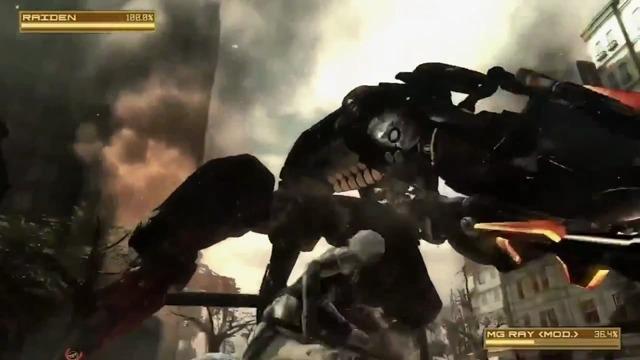 Metal Gear-Spielszenen